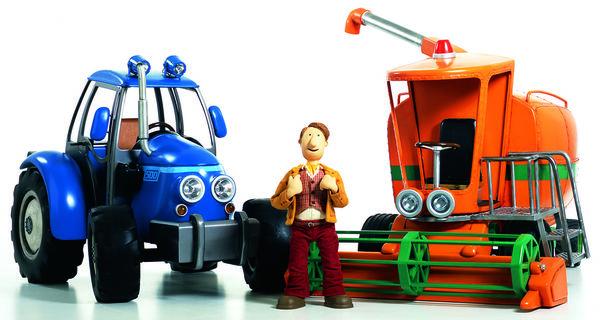 kleiner roter traktor 3  der kleine rote traktor hat