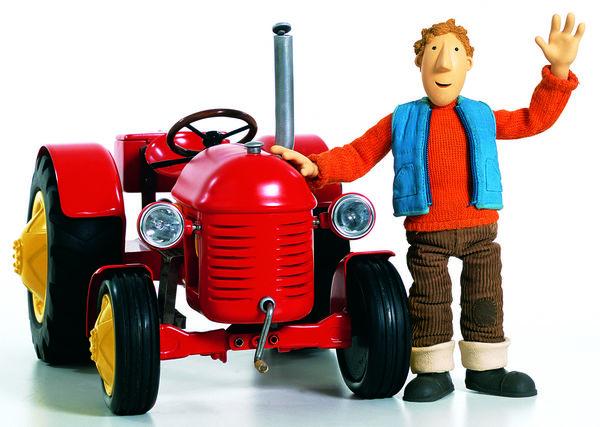 kleiner roter traktor 3 - der kleine rote traktor hat