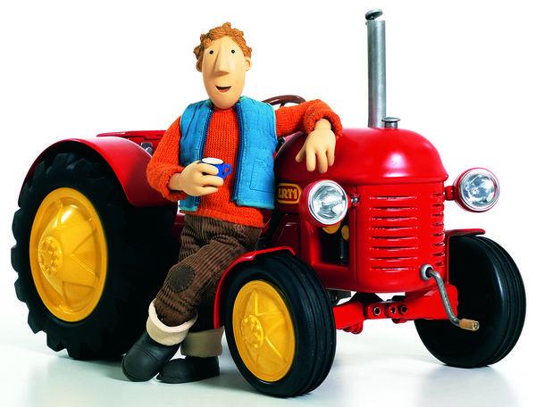 Der Kleine Rote Traktor