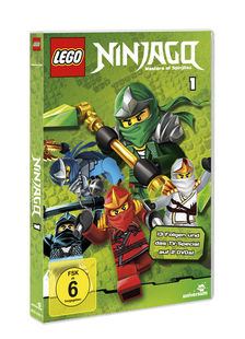 lego - ninjago - staffel 1 dvd - film, dvd, blu-ray, trailer, szenenbilder